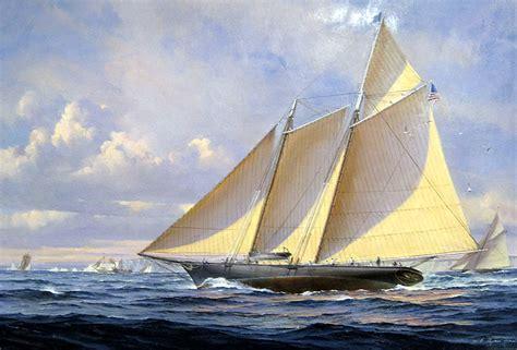 yacht america william ryan schooner yacht america j russell jinishian