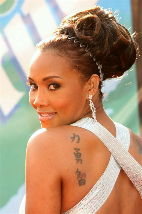 vivica a fox tattoo list inkedceleb