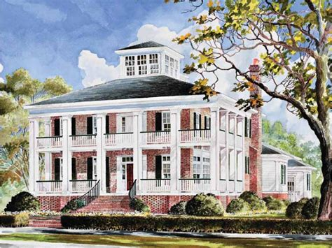 southern plantation home plans eplans plantation house plan smythe park southern house