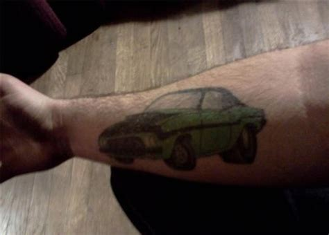 car related tattoos bad car on forearm cool tattoos