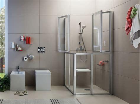 box doccia salvaspazio box doccia con porte a soffietto time box doccia con