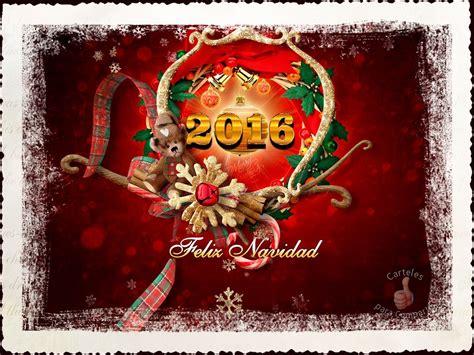 ver imagenes de feliz navidad 2016 feliz navidad roja 2016 im 225 genes con frases para