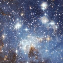 Field of bright stars and dust clouds in the large magellanic cloud