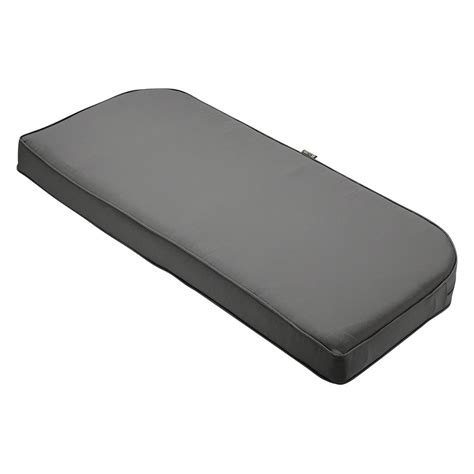 62 bench cushion classic accessories montlake fadesafe light charcoal 41 in