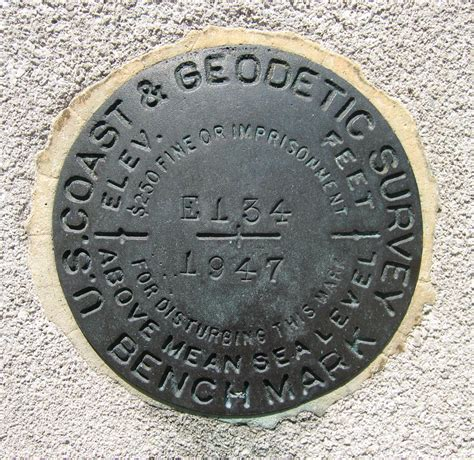 types of bench mark file uscgs e134 jpg wikimedia commons