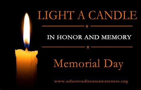 we light this candle in memory of light a candle on memorial day monday may 27 in memory
