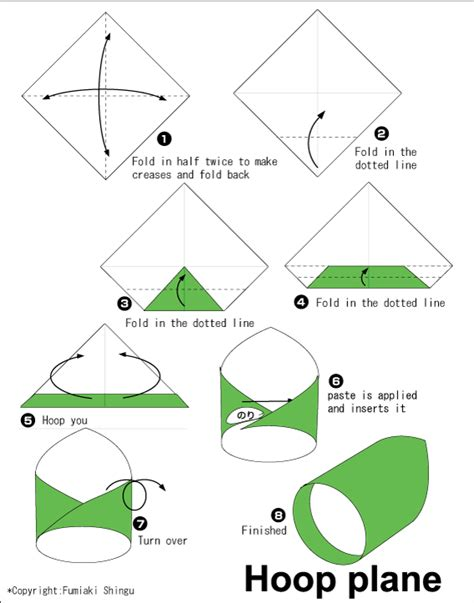waka plane easy origami for