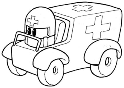 paramedic coloring pages coloring pages