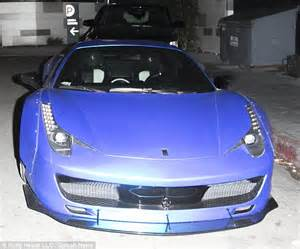 justin bieber new cars justin bieber gets ticketed in his blue for