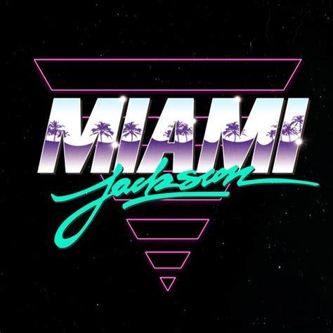 design graphics miami miami jackson logos on behance amd digging the palm tree