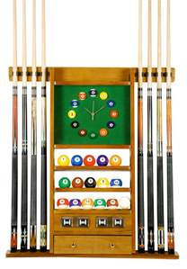 cue rack only 8 pool billiard stick set wall