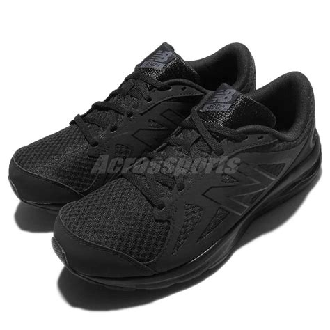 all black new balance running shoes new balance m490ck4 2e wide black mens running shoes