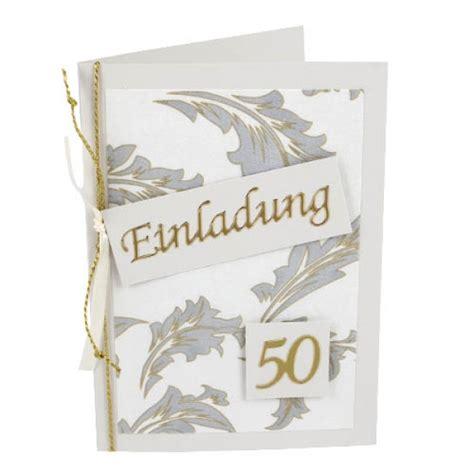 Elegante Einladungskarten Hochzeit by Einladungskarte Goldene Hochzeit Elegante Ornamente