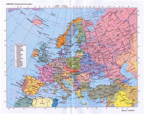 large map large detailed political map of europe with roads and