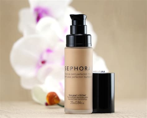 Sephora Foundation a simple look using sephora 10 hr wear perfection
