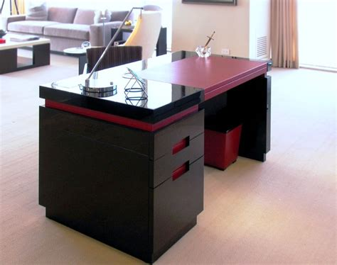 Customize Desk by Custom Desk Modern Desks And Hutches New York By Manhattan Cabinetry Inc