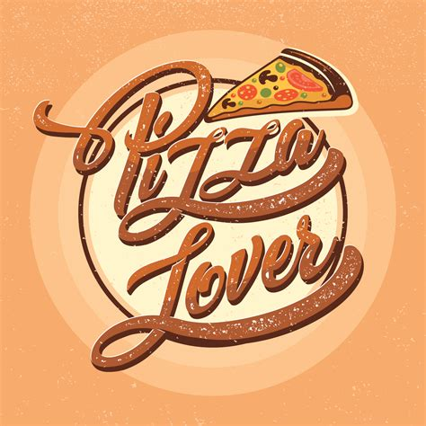 Pizza Lover tipograf 237 a pizza lover descargue gr 225 ficos y vectores gratis