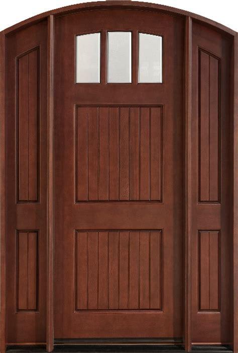 Mahogany Exterior Door Custom Mahogany Doors Custom Wood Doors Doors For