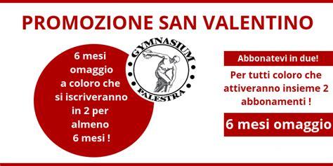 palestra gymnasium pavia promozione di san valentino abbonarsi in due conviene