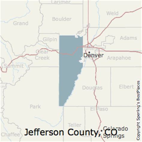 map jefferson county colorado best places to live in jefferson county colorado
