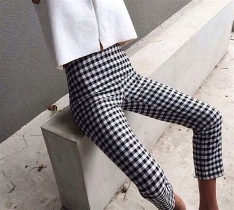 checkered pattern tumblr pants pattern jeans checkered wheretoget