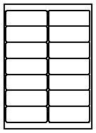 Etiketten 105 X 42 Wordvorlage Labelmedia Standard Etiketten Rollenware Bogenware Leporello