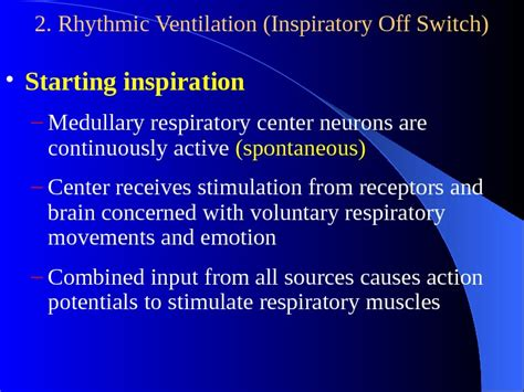 Section 8 And Regulations by Section 4 Regulation Of The Respiration I