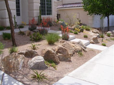 desert landscaping ideas how to create desert landscape design front yard