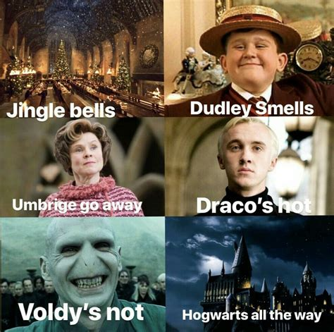 jingle bells dudley smells harrypotter harrypot