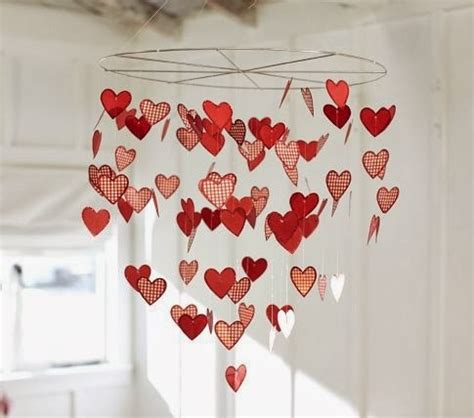 heart decorations home valentine crafts easy paper craft ideas on a budget