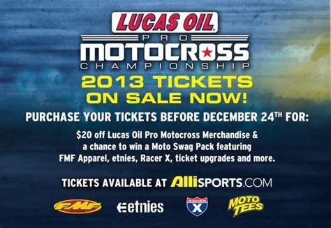 lucas oil pro motocross schedule 2013 lucas oil pro motocross tickets on sale mx sports
