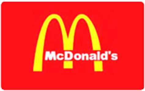 Where To Buy Mcdonalds Gift Cards - mcdonald s gift card up to 17 off