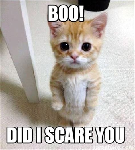 Boo Meme - meme creator boo did i scare you meme generator at