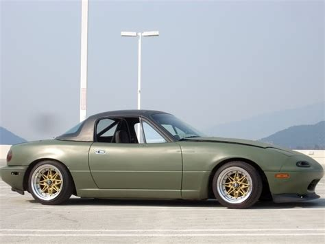 mazda miata slammed stance miata cars paint colors and olives
