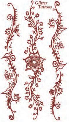 glitter henna bloemen tattooforaweek tijdelijke tattoos