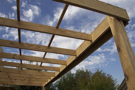 laras modernas techo como hacer un techo de madera en el patio modern patio