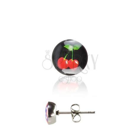 Cherry Studs stud earrings cherry jewelry eshop