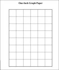 1 inch grid paper template sle 1 inch graph paper 9 free documents in pdf