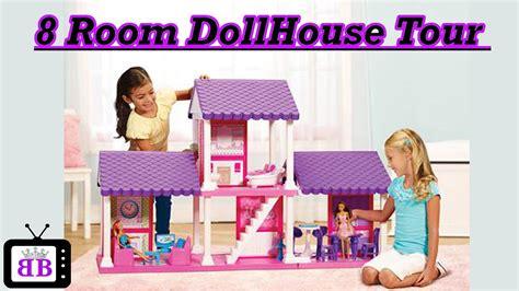 fashion doll 4 room dollhouse dollhouse tour review customized for fashion