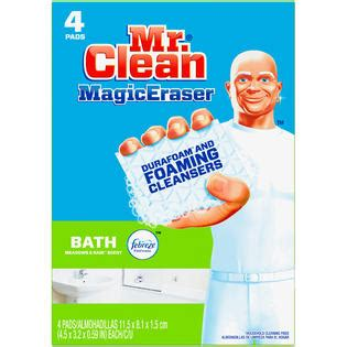 magic eraser on bathtub mr clean magic eraser bath scrubber 4 ct