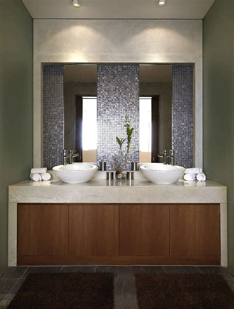 Bathroom Vanity And Mirror Ideas by Contemporary Bathroom Mirrors For Stylish Interiors