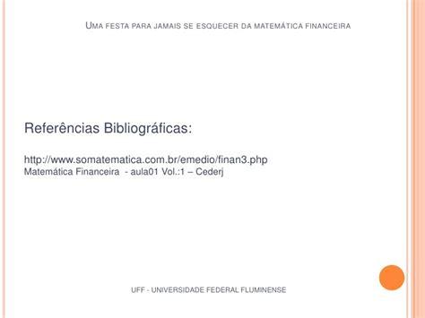 Matemática Financeira Apostila Fgv Mba Referencia Bibliografica by Matem 225 Tica Financeira Da Teoria 224 Pr 225 Tica