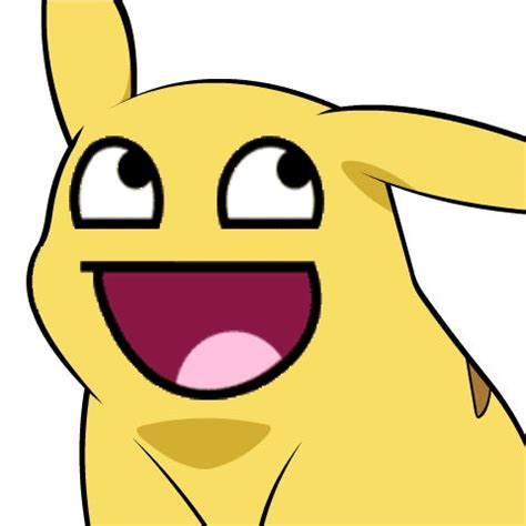Pikachu Meme - awesome face pikachu give pikachu a face know your meme