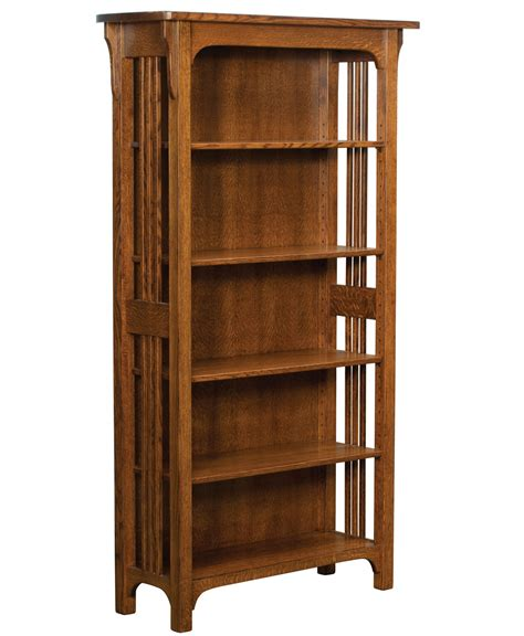 craftsman bookcase craftsman mission bookcase amish direct furniture