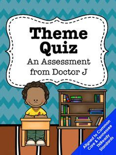 theme quiz 5th grade rl4 5 ri4 5 text structure chart and test common core tn
