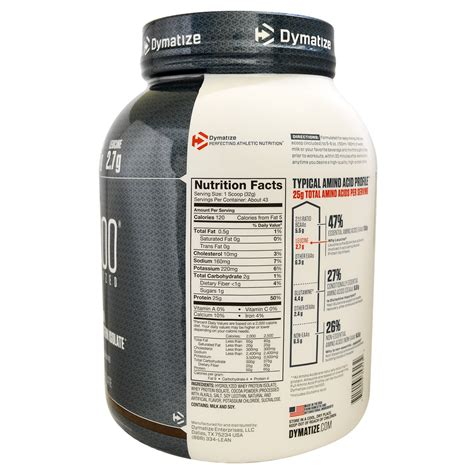 Whey Isolate 100 dymatize nutrition iso 100 hydrolyzed 100 whey protein isolate powder gourmet chocolate 48