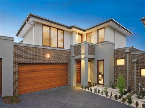 brick house designs australia photo of a brick house exterior from real australian home house facade photo 175695