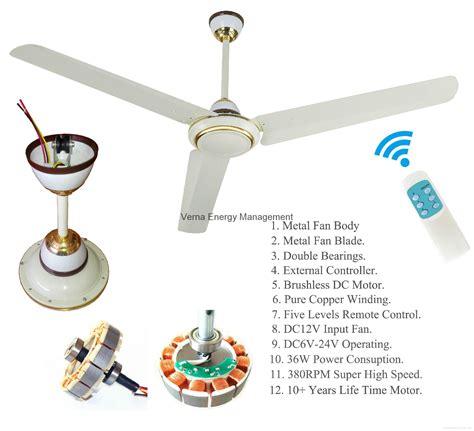 high power ceiling fan 56 36w dc12v solar powered ceiling fan with 10 years