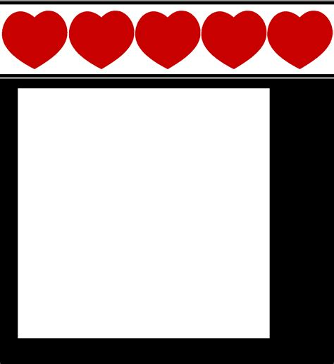 printable stationary with hearts free printable heart stationary stationery