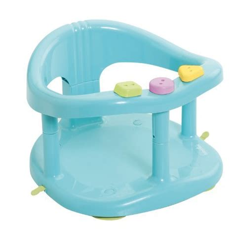 toddler bathtub seat babymoov a022001 babies bath seat with ring aqua blue